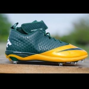 NIKE Superbad Pro Lunarlon Football Cleats Sz 15